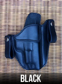 Black Leather Gun Holster