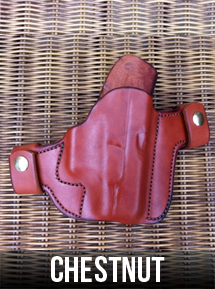 Chestnut Leather Gun Holster